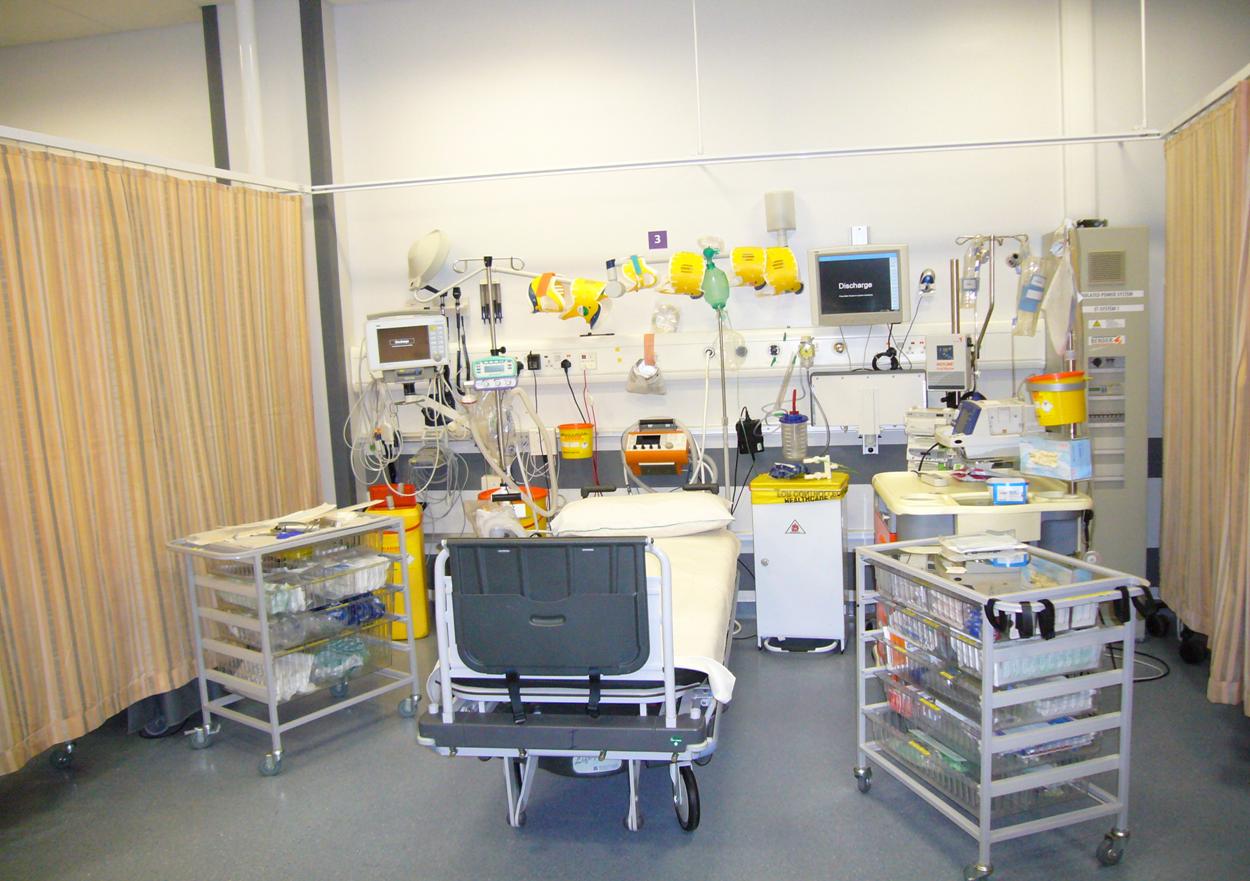 Resus Room Hospital